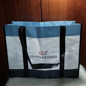 Classic Vineyard Vines shopping tote bag